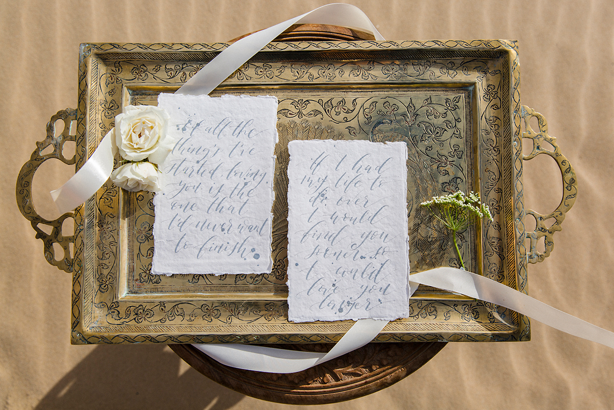 styled-shoot-white-white-weddings-bohemian-desert-style-elopement-tips-stationery-calligraphy