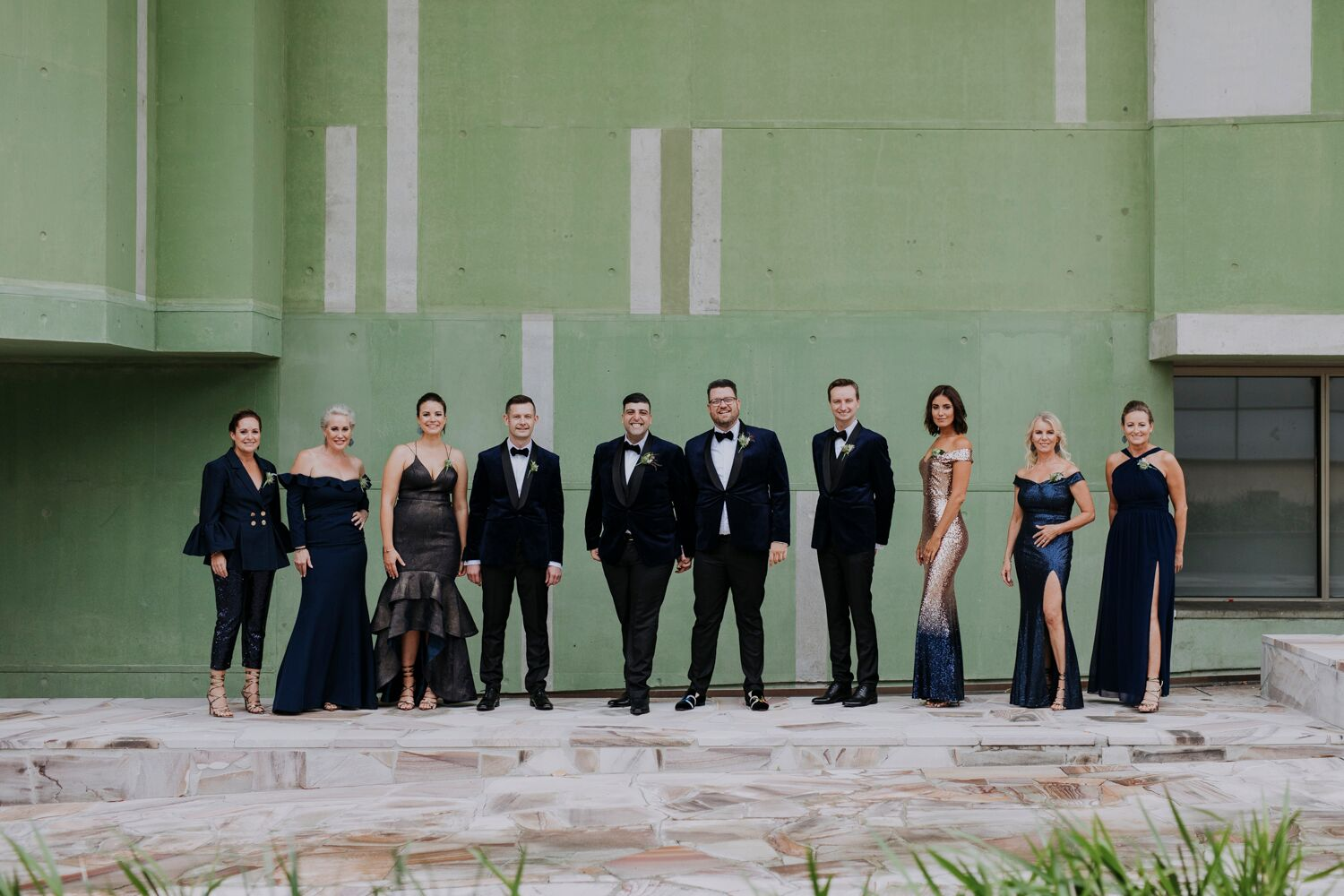 The W Hotel wedding special day suits formal wear