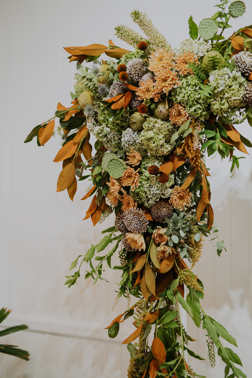 white+white weddings and events the wedding school loyal hope of the valley altar flowers