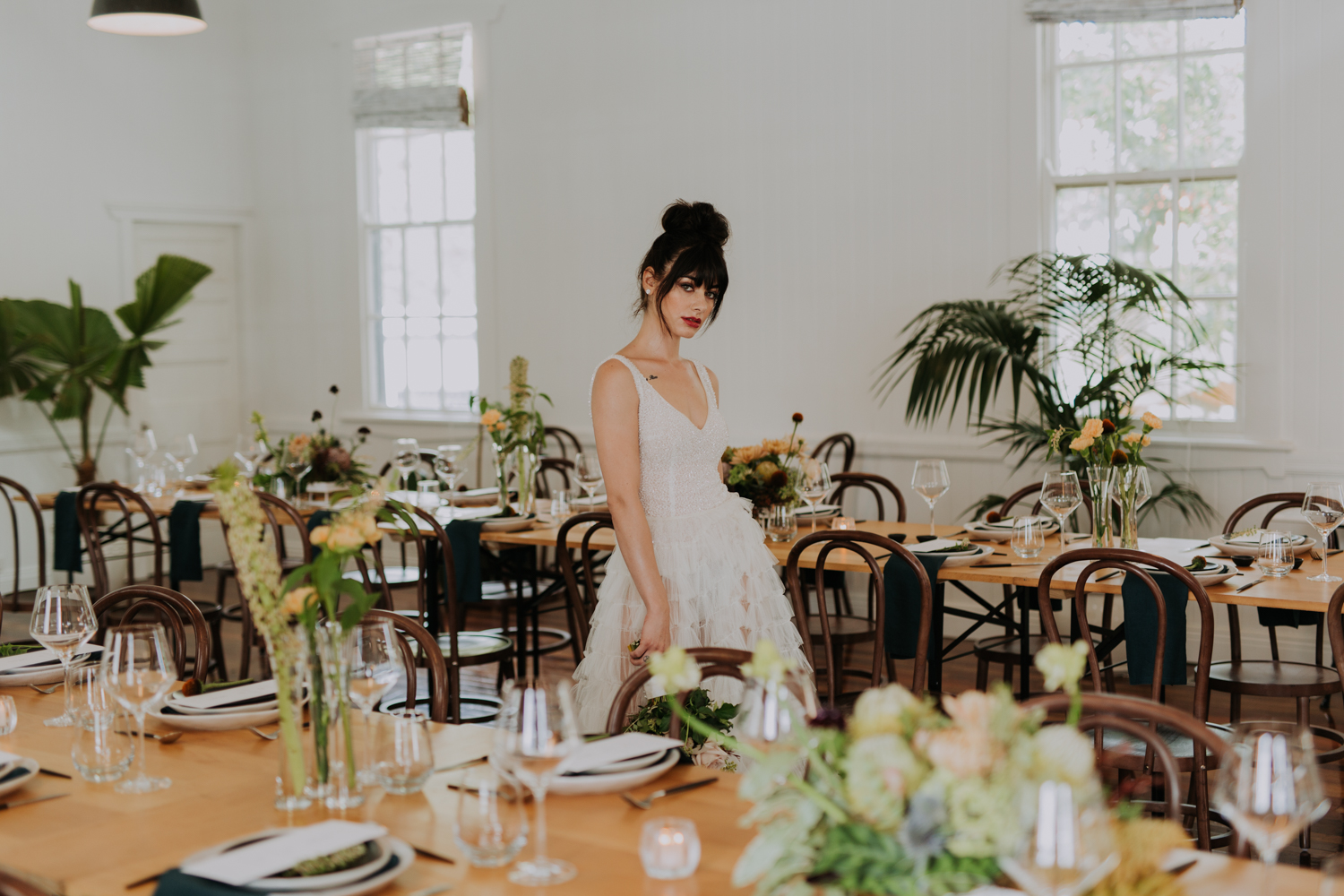 white+white weddings and events the wedding school loyal hope of the valley bride reception styled