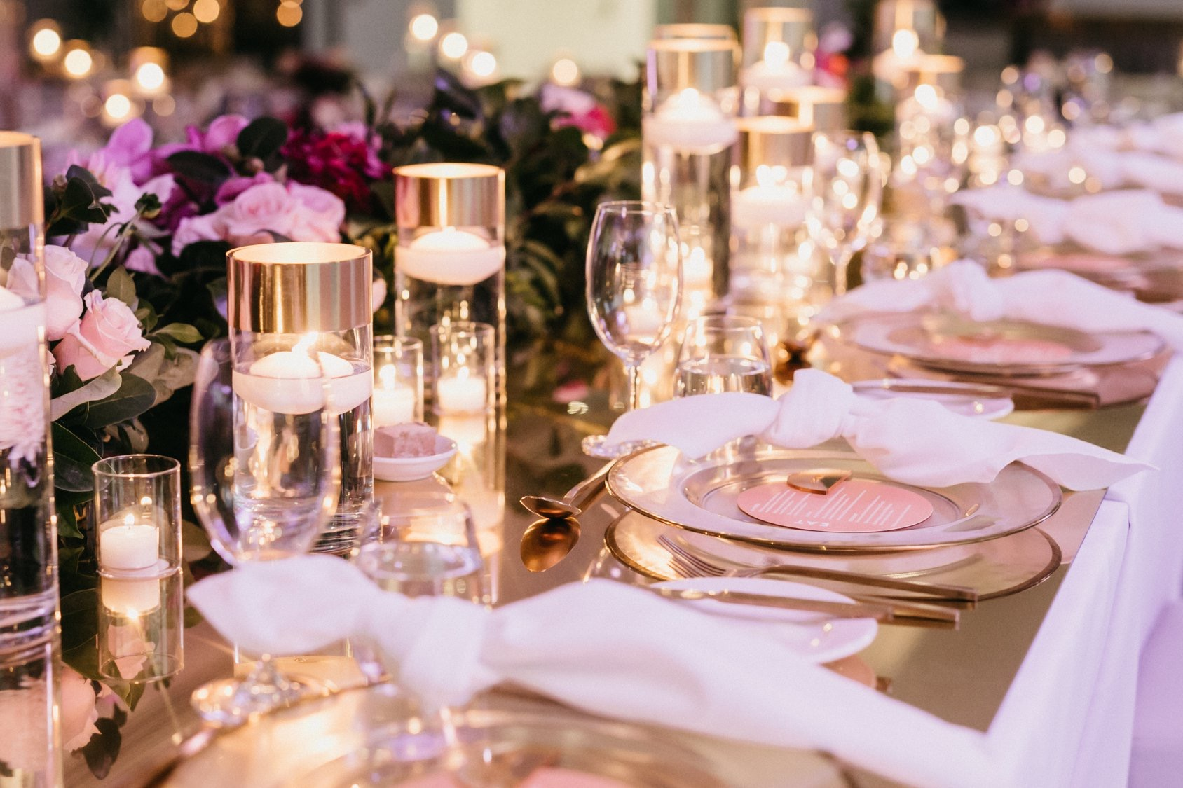 white+white weddings and events the wedding school jenny john black bird private dining table setting