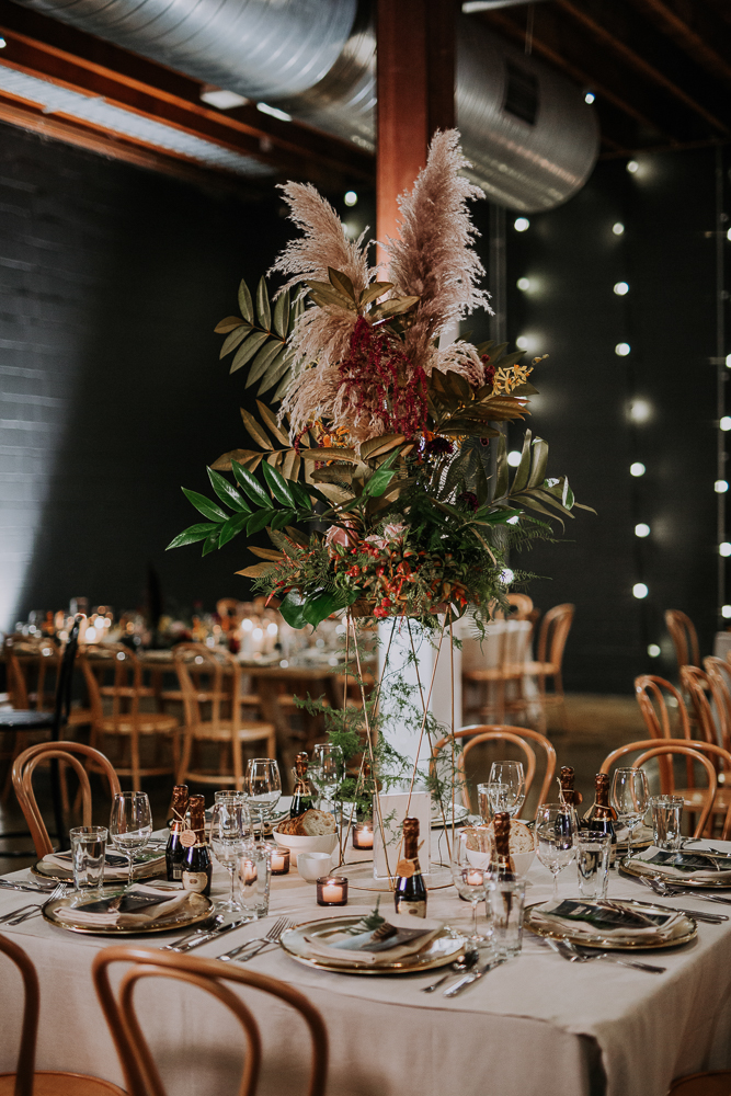 white+white weddings and events the wedding school mitch and olivia lightspace studios table setting
