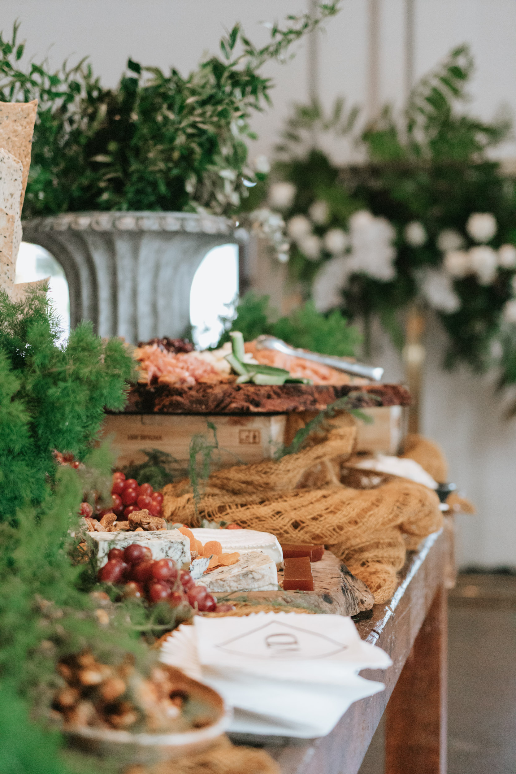 white+white weddings and events the wedding school lightspace food fresh and colour