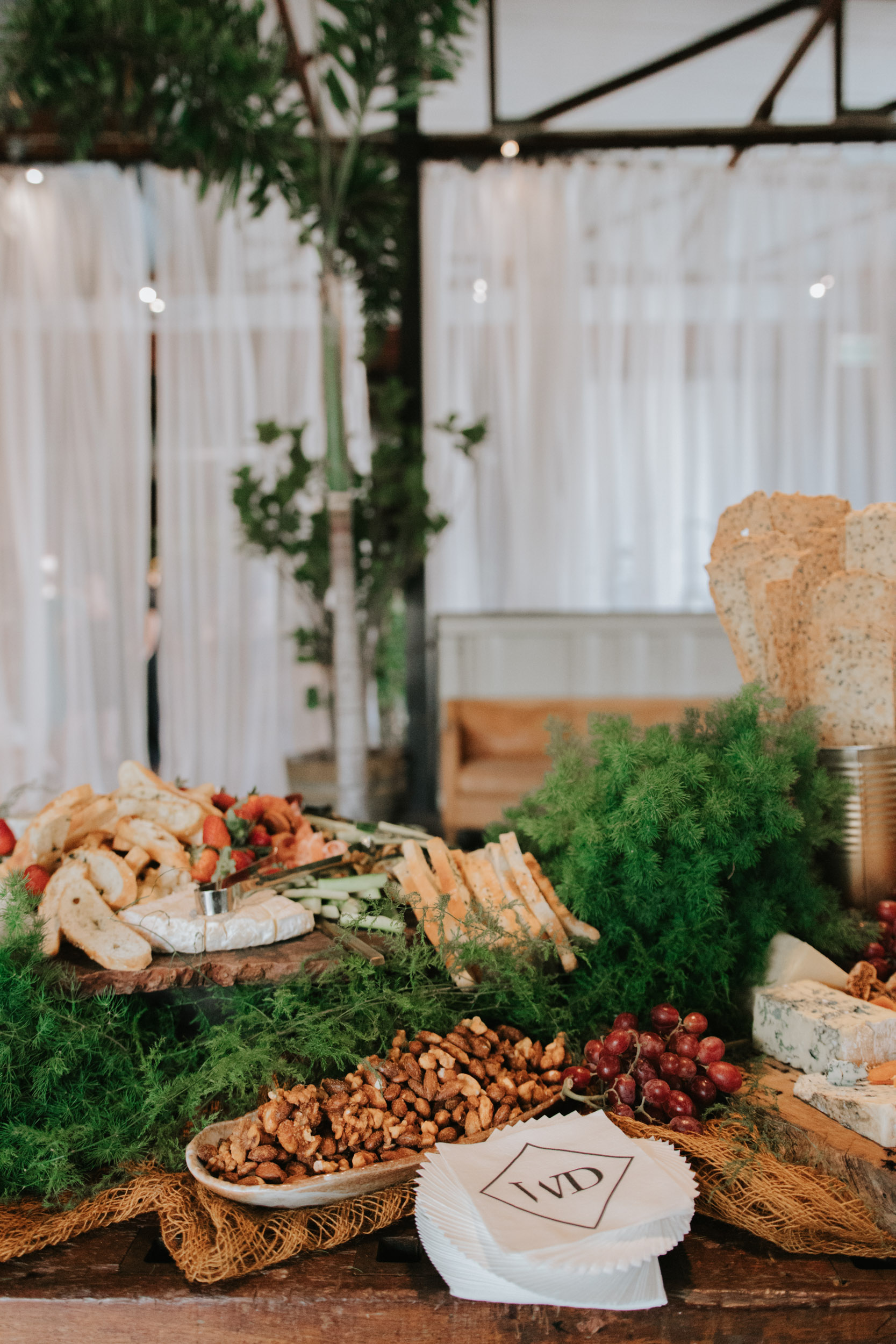 white+white weddings and events the wedding school lightspace food fresh and colour landscape