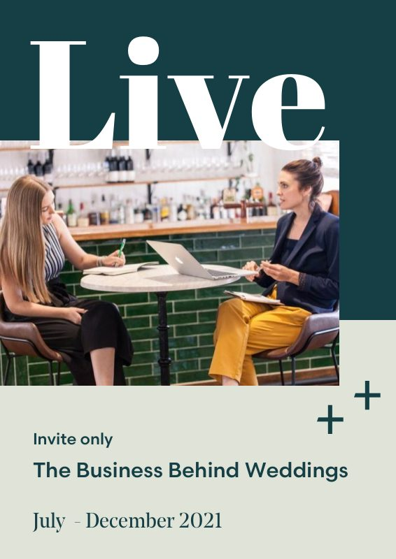 Wedding Events Mentorship Live One on One Consulting Group